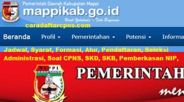 Pengumuman CPNS Kabupaten Mappi 2021 Lulusan SMA SMK D3 S1 S2