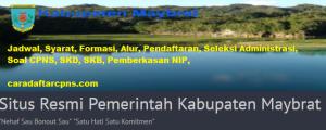 Pendaftaran CPNS Kabupaten Maybrat 2019