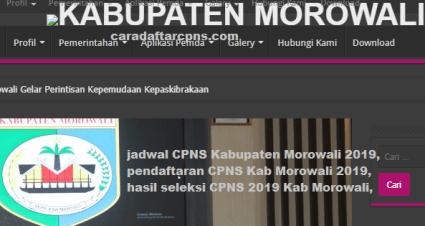 Pengumuman CPNS Kabupaten Morowali 2021 Lulusan SMA SMK D3 S1 S2
