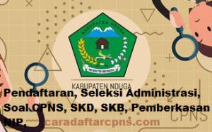 Jadwal SKB CPNS Kabupaten Nduga 2019 2020