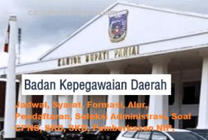 Jadwal SKB CPNS Kabupaten Paniai 2019 2020