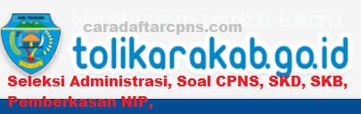 Pengumuman CPNS Kabupaten Tolikara 2021 Lulusan SMA SMK D3 S1 S2