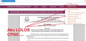 Pengumuman Hasil SKB CPNS Kejaksaan Formasi 2019