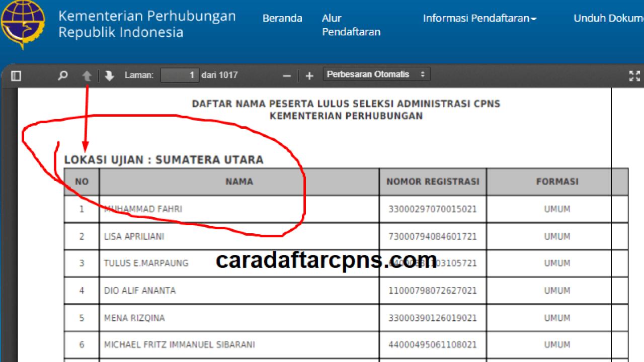 Contoh Soal Tes Skb Cpns Kementerian Perhubungan Kemenhub