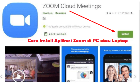 Cara Menggunakan Install Zoom
