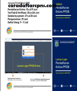 Pengumuman Hasil Seleksi PPDB SMA SMK Negeri Provinsi Nusa Tenggara Barat 2020/2021