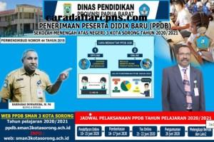 Pengumuman Hasil Seleksi PPDB SMA SMK Negeri Provinsi Papua Barat 2020/2021