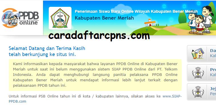 Jadwal Pendaftaran Ppdb Sma Smk Negeri Kab Bener Meriah 2020 2021