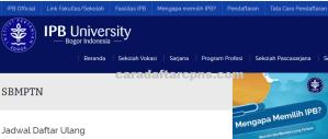 Pengumuman Hasil SBMPTN Institut Pertanian Bogor IPB 2020 2021