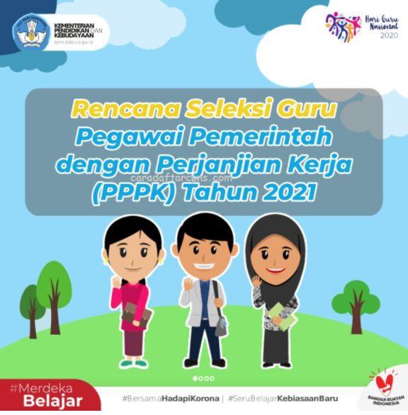 Jadwal Syarat dan Cara Pendaftaran PPPK 2021 Guru Honorer