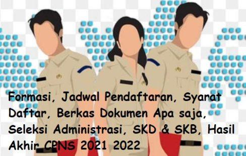 Syarat Khusus Pendaftaran CPNS 2021