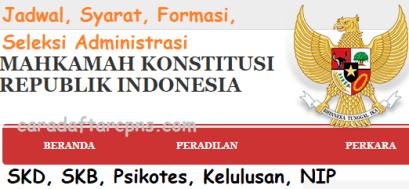 Jadwal dan syarat pendaftaran CPNS Mahkamah Konstitusi 2021