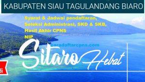 Pengumuman CPNS Kabupaten Sitaro 2021 Lulusan SMA SMK D3 S1 S2