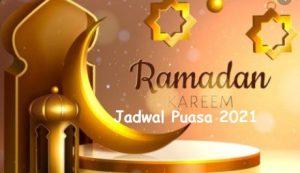Jadwal puasa ramadhan tahun 2021