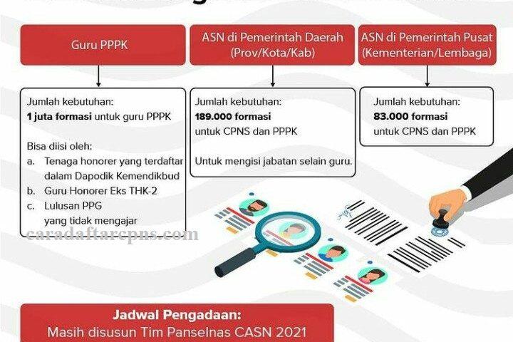 Kisi-kisi Soal Tes CPNS dan PPPK 2021