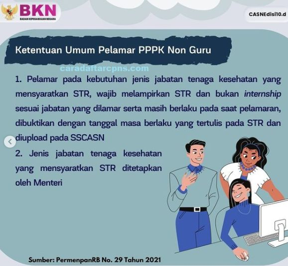 Jadwal dan syarat Pendaftaran PPPK Non Guru