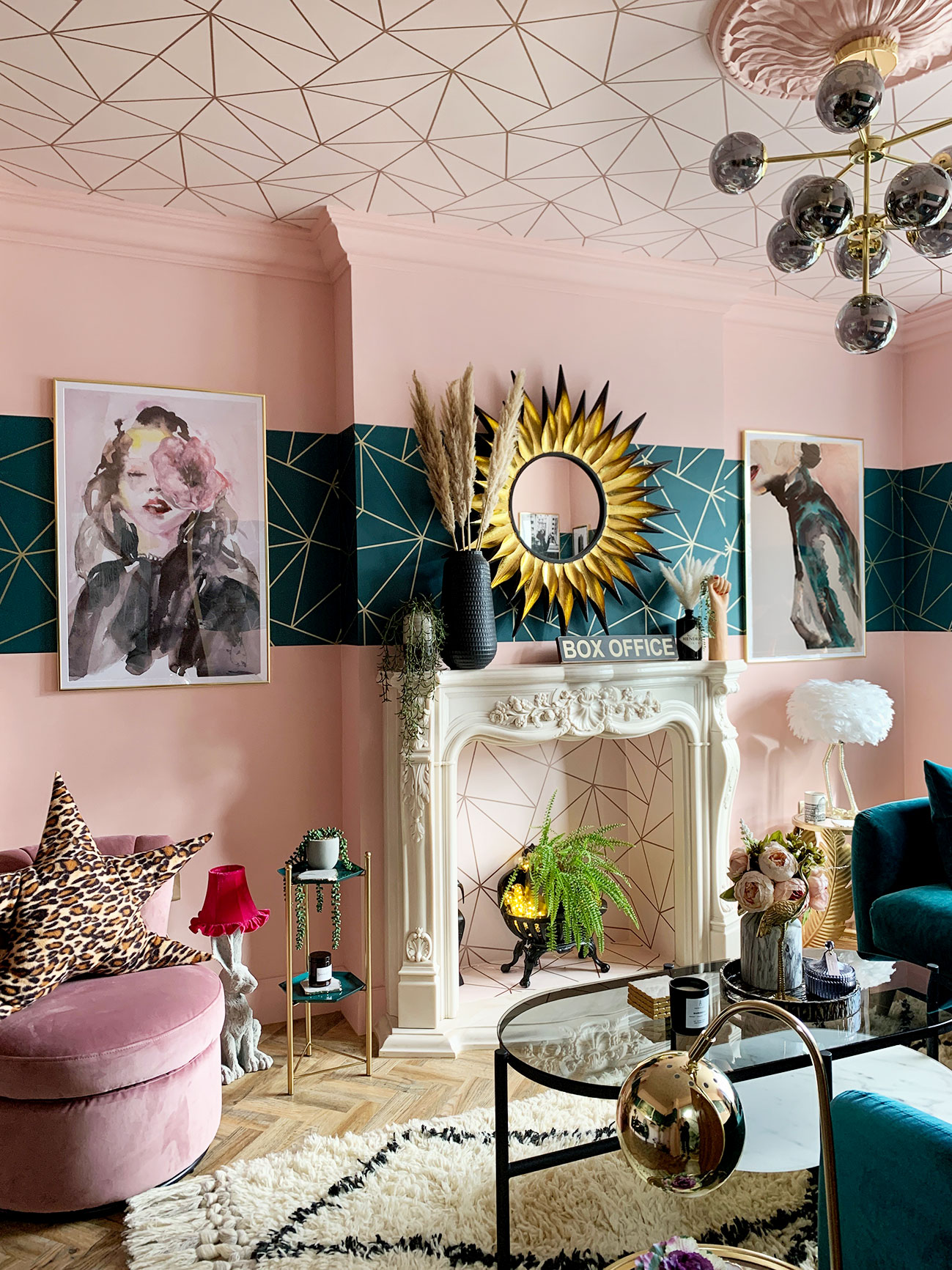 Glamorous Living Room Quirky Home Accessories Caradise