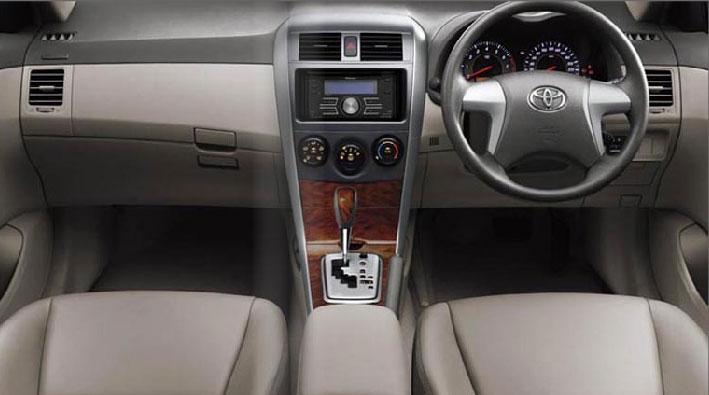 2009 Toyota Corolla Interior Pictures