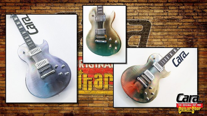 Chrome Plated Guitars by Cara Guitars
