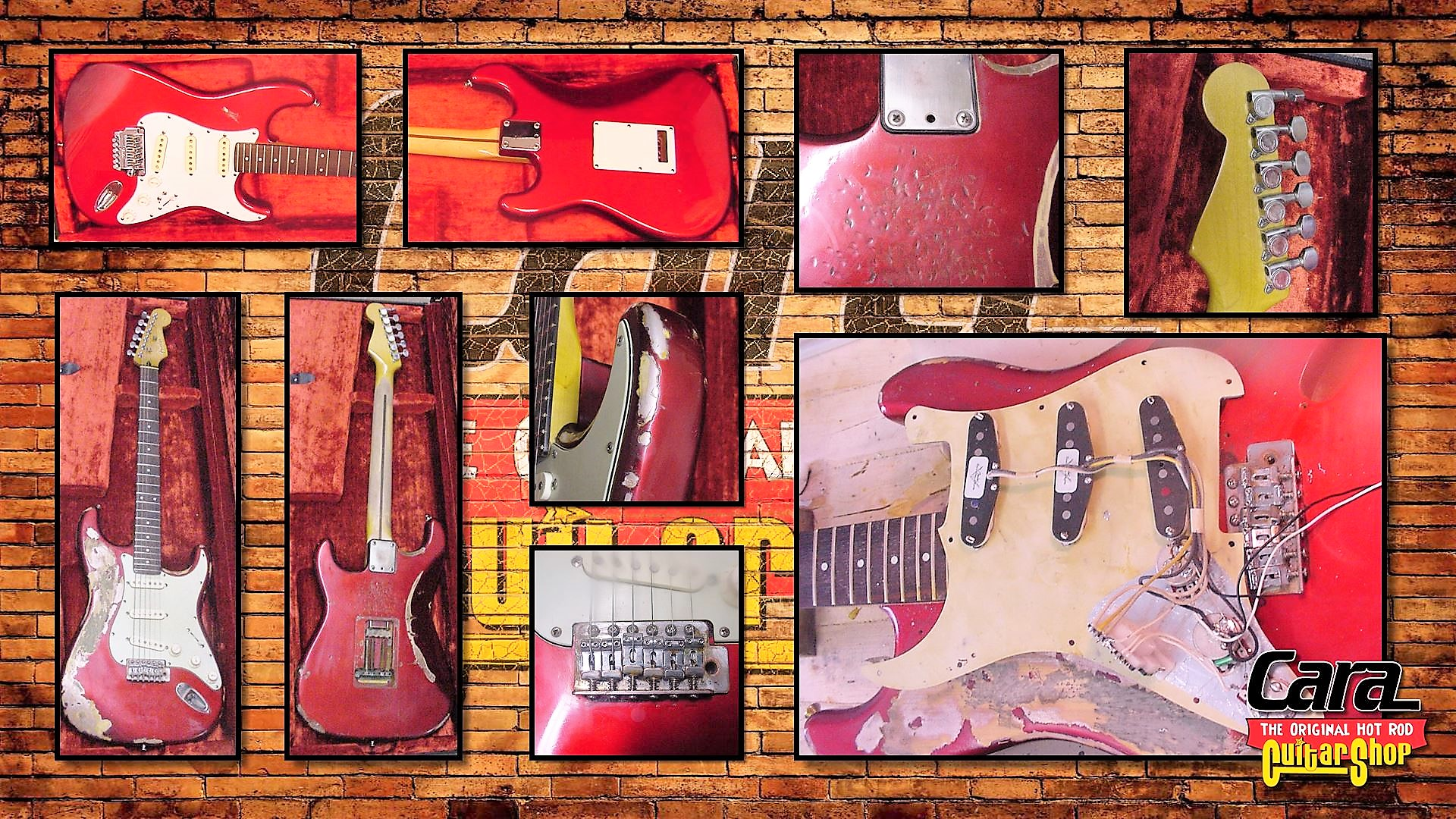 Fender Relic Guitars