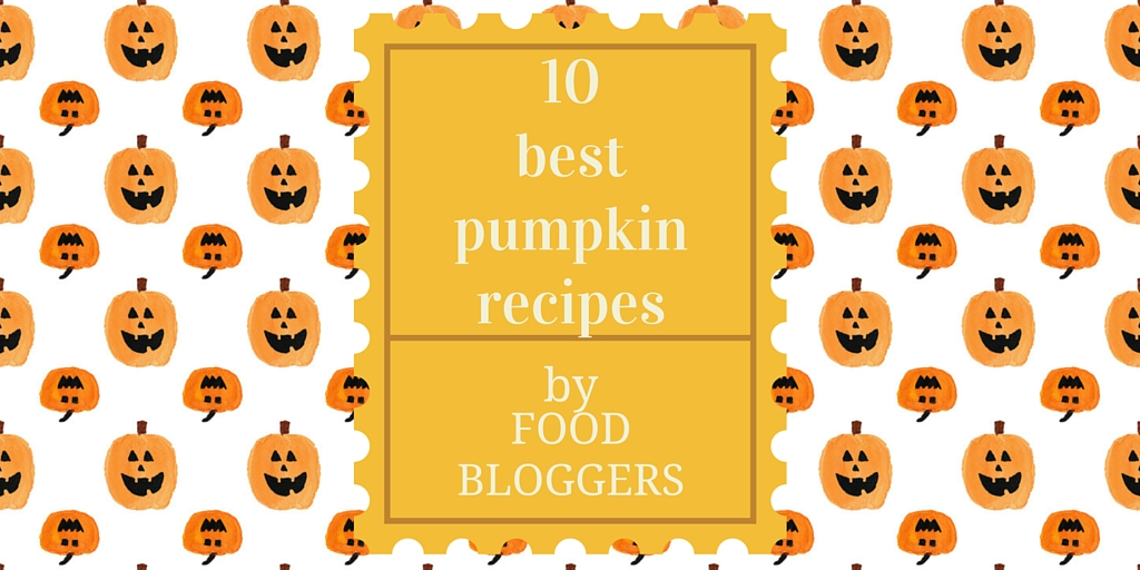 10 creative, fresh and fun pumpkin recipes by food bloggers. New ideas for baking with pumpkin!