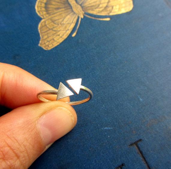 Minimalist jewelry design by Lunahoo on Etsy