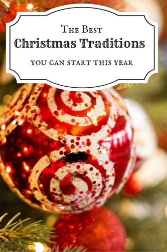 Loads of ideas for fun family traditions for Christmas time! Start your own traditions with the help of this roundup of the best ideas for Christmas traditions for families & couples alike.