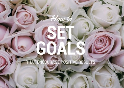 Easy to implement ideas for setting goals in a way to encourage positive results and follow-through. Easy and clever strategy to set life goals the successful way – this is a fantastically simple and smart way to set goals and get the results you've always wanted.