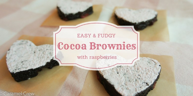 Ease Raspberry Cocoa Brownies