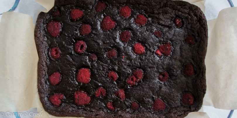 Rich and intensely chocolatey, easy cocoa brownies recipe that is perfectly chewy on the outside and fudgy on the inside, spiked with juicy raspberry flavor. The easiest & most delicious brownie recipe ever!