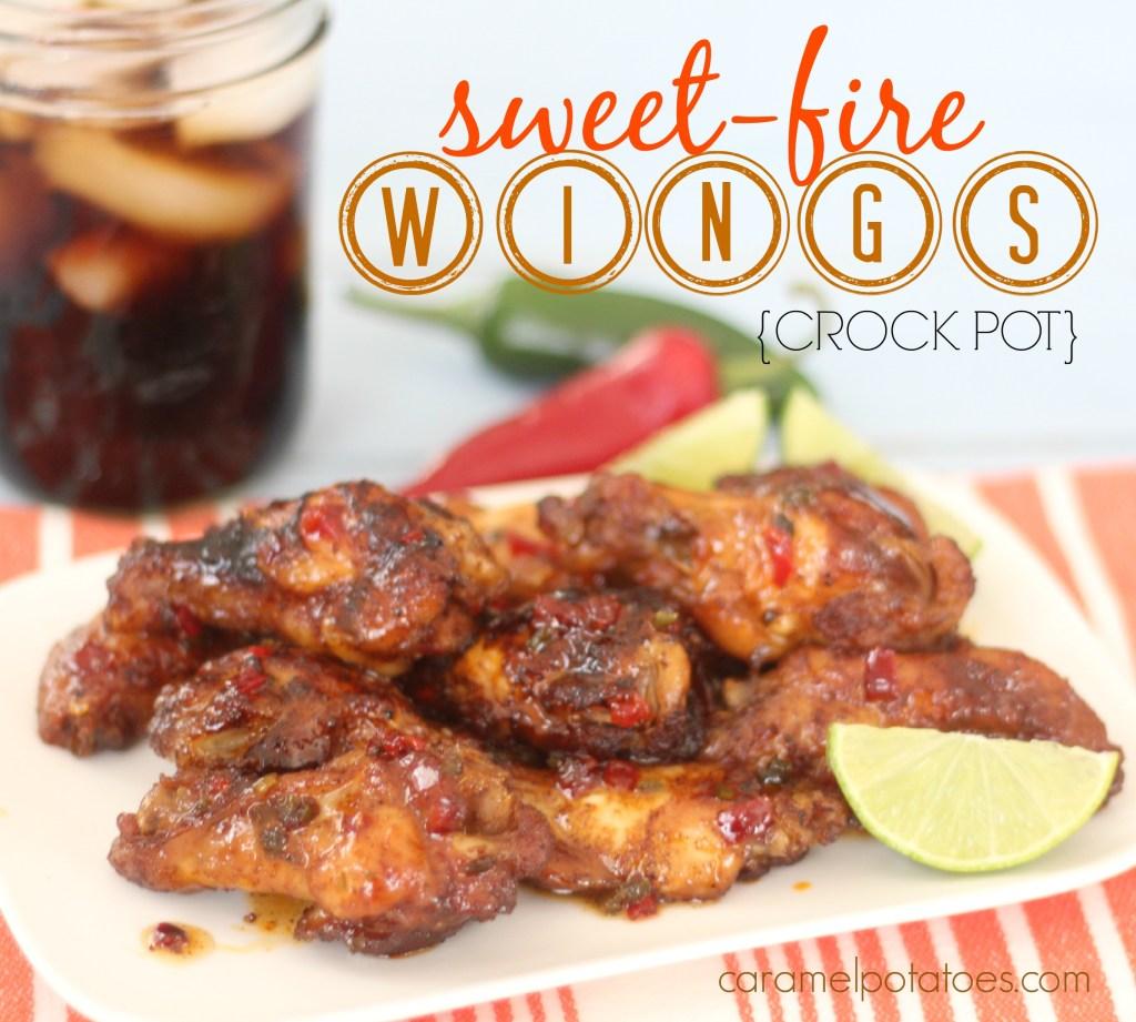 Crock Pot Sweet Fire Wings