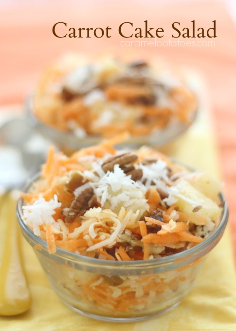 Carrot Cake Salad