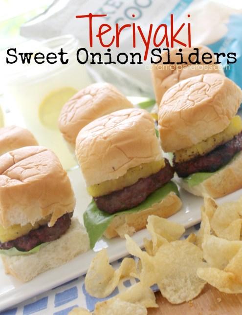 Teriyaki Sweet Onion Sliders