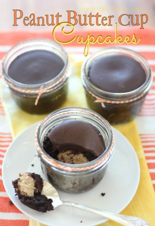 peanu tbutter cup cupcakes