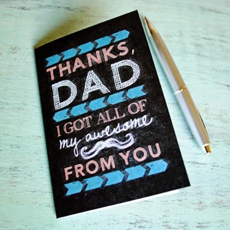 printable fathers day