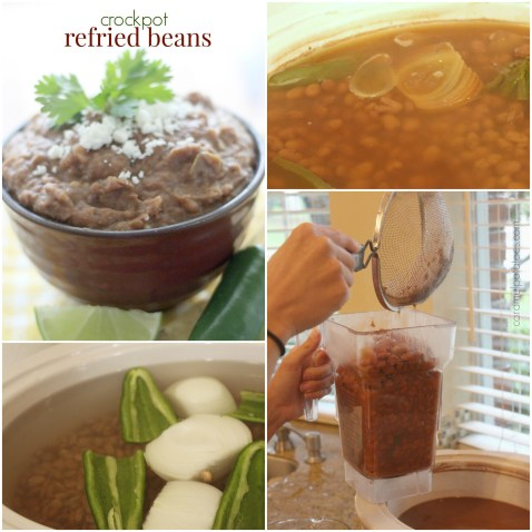 Crockpot Refried Beans
