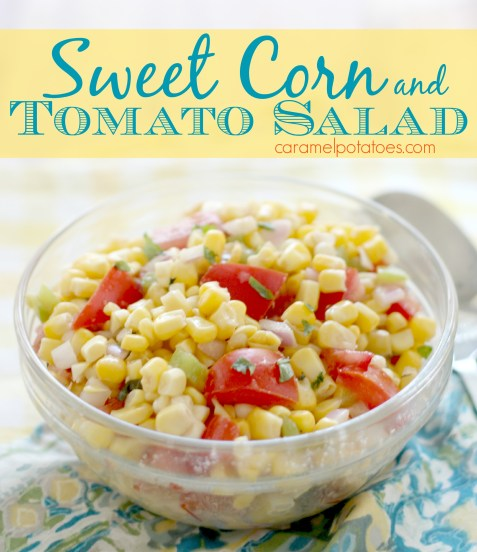 Sweet Corn and Tomato Salad 007