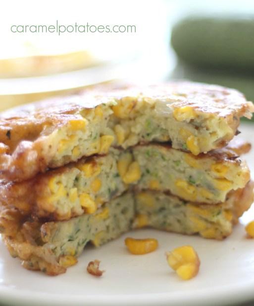 Zucchini Corn Cakes