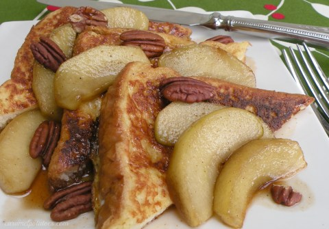 French Toast and Maple Apples 003