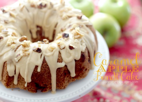 caramel apple bundt cale