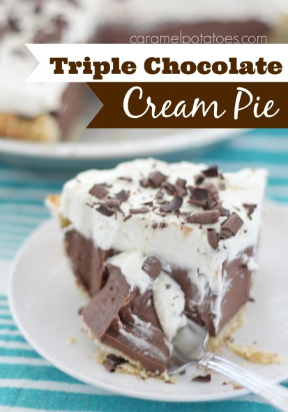 Triple Chocolate Cream Pie 076