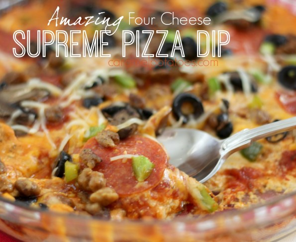 Supreme Pizza Dip 079