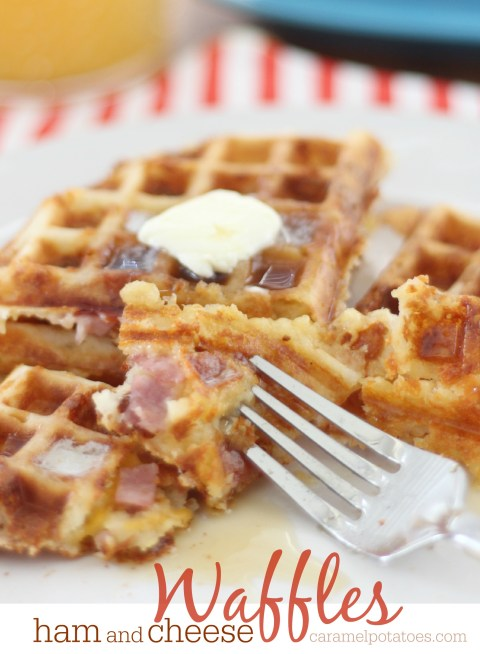 ham and cheese waffles 061