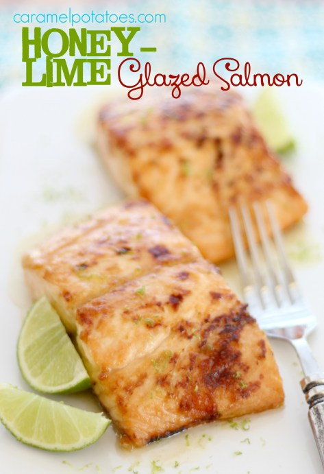 Honey Lime Glazed Salmon 064