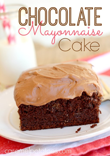 chocolate mayonaise cake 004