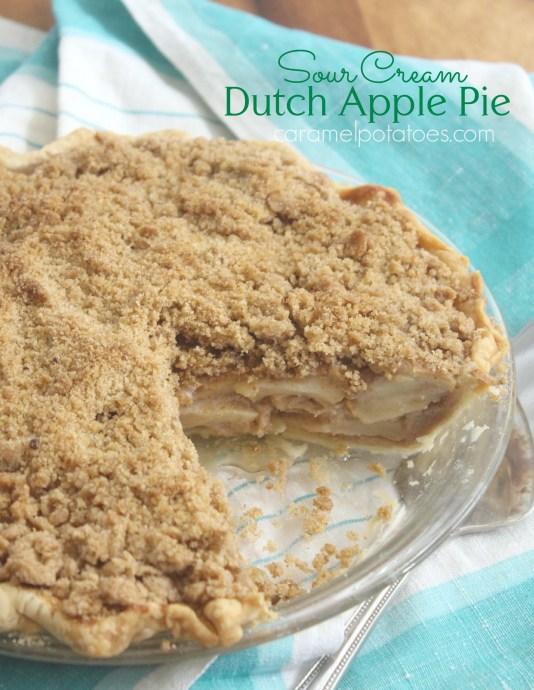 sour cream apple crumb pie 1344