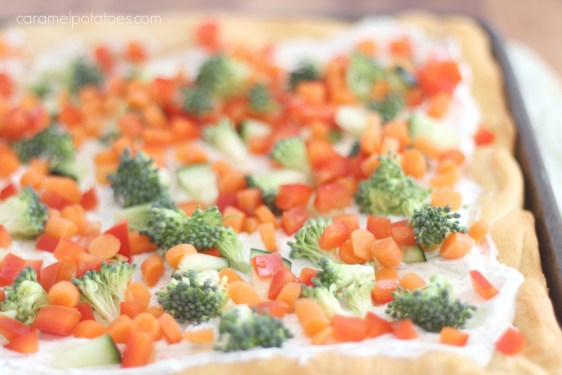 veggie pizza appetizer 008