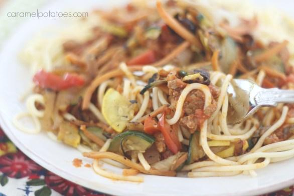 Veggie Spaghetti 013