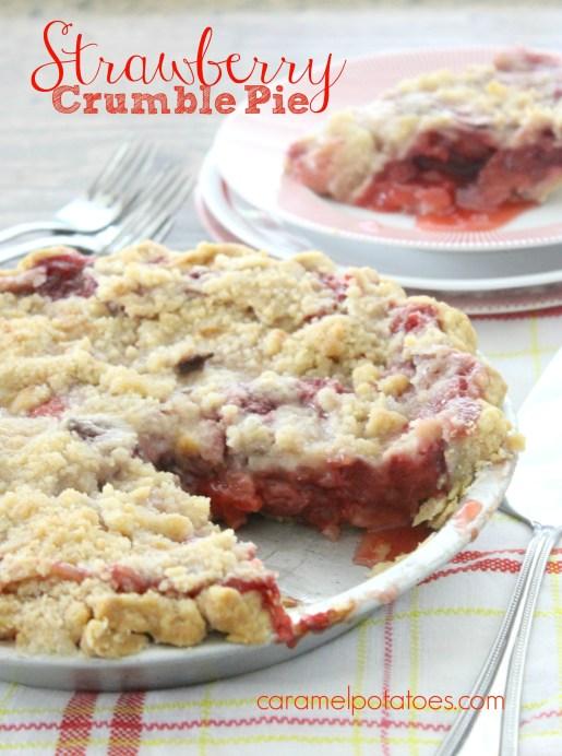 Strawberry Crumble Pie 117