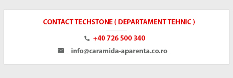 contact departament Tehnic Techstone